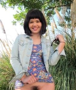 18 year old asian teen Xhivi Kim gets..