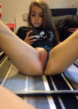 Amateur homemade naked selfie, sexual..