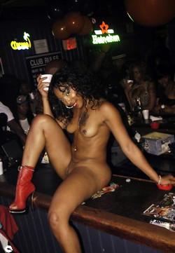 Curvy black girlfriend undressing..