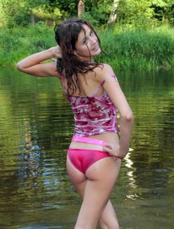 Bikini style. Only teeny girls special..