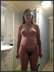 Drunk nude wife